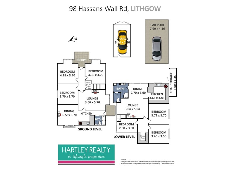 98 Hassans Walls Road, Lithgow NSW 2790 Floorplan