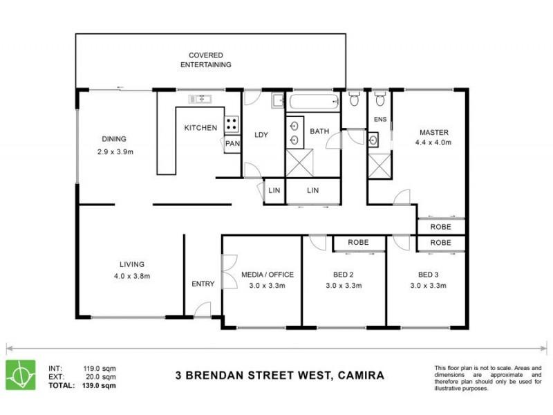 3 Brendan Street West, Camira QLD 4300 Floorplan