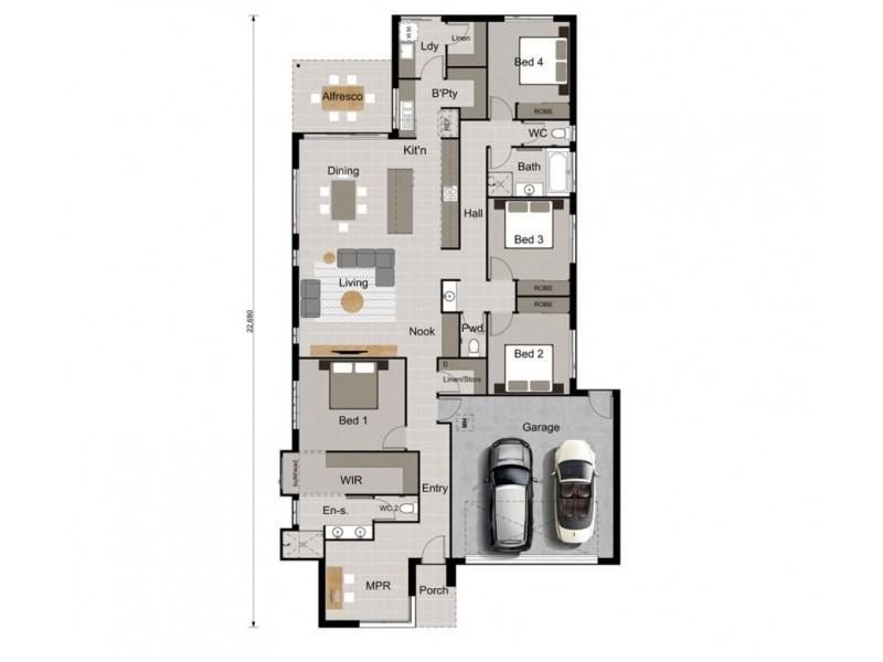 14 Cardinal Crescent, Newport QLD 4020 Floorplan