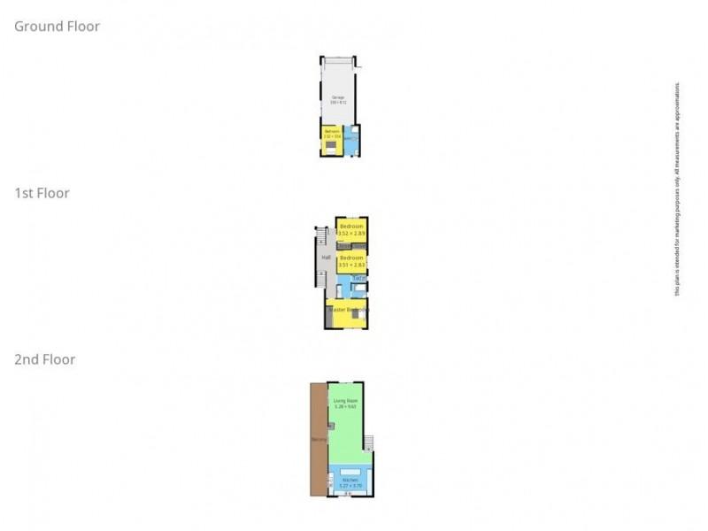 3 Davison St, Narooma NSW 2546 Floorplan