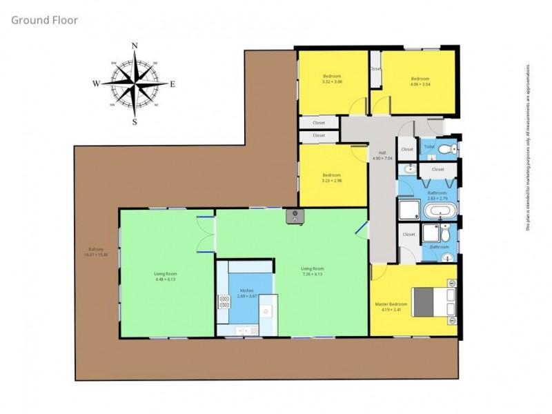 472 Old Highway, Narooma NSW 2546 Floorplan