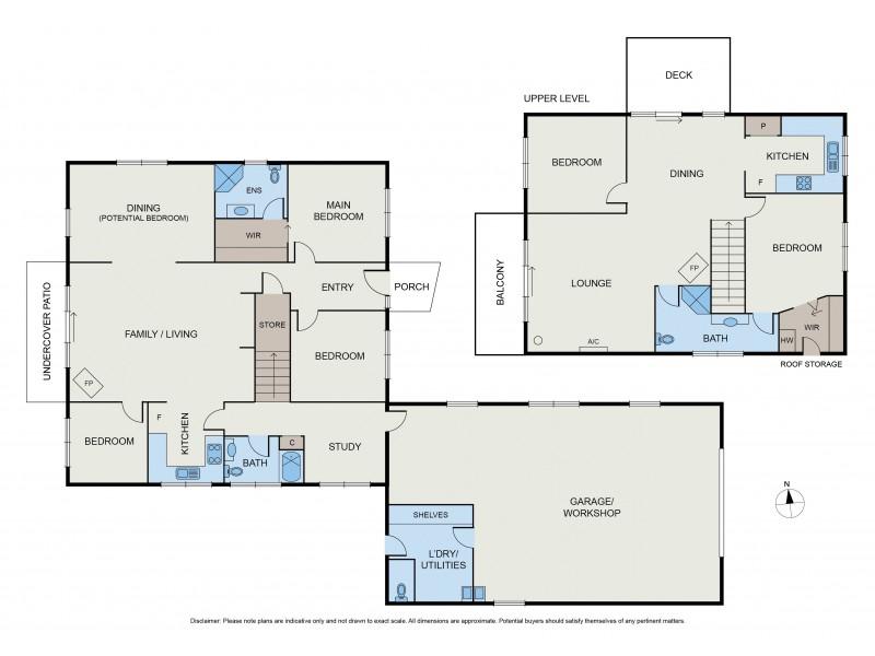 93 Quire Rd, Buchan South VIC 3885 Floorplan