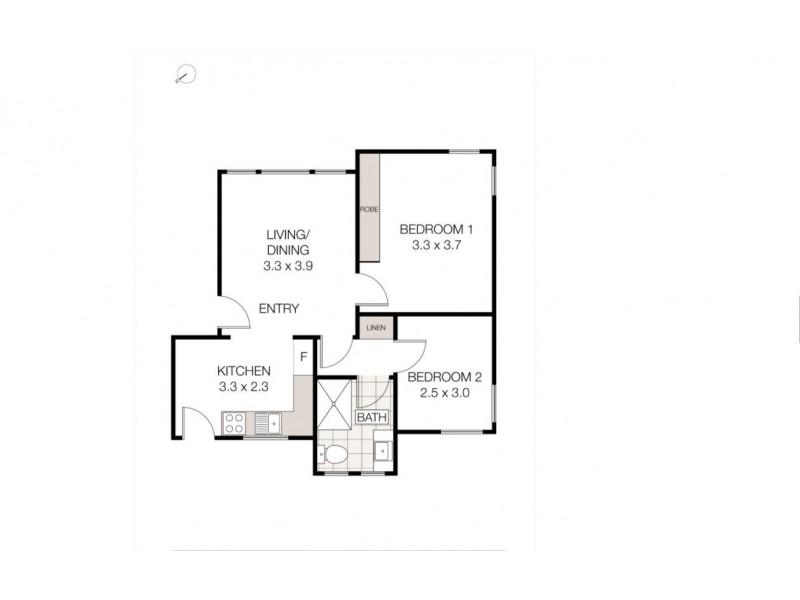 1/20 Grafton St, Cammeray NSW 2062 Floorplan