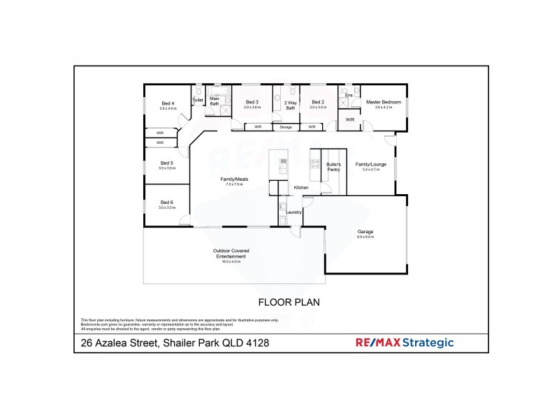 26 Azalea Avenue, Daisy Hill QLD 4127 Floorplan
