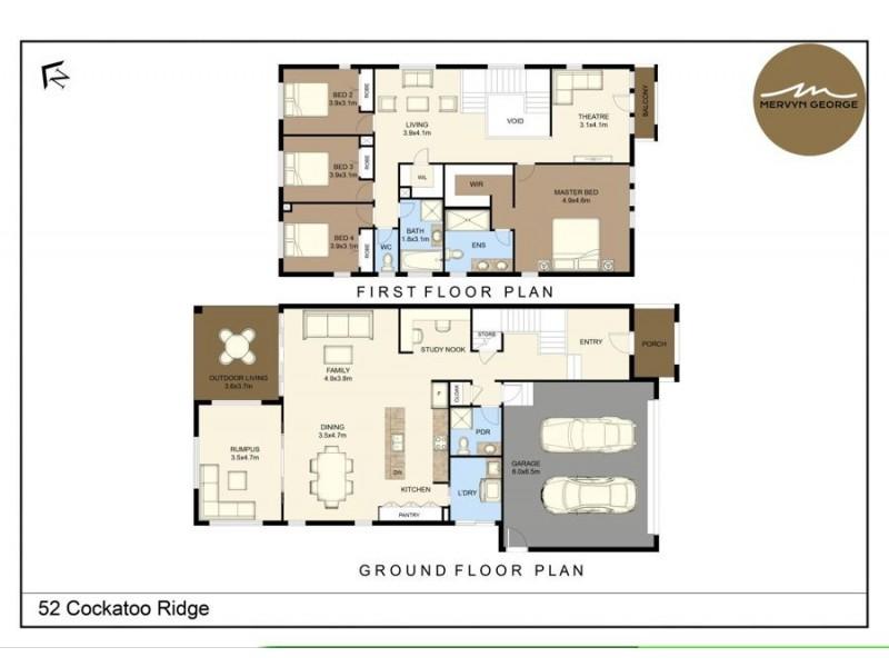 52 Cockatoo Ridge, Aberglasslyn NSW 2320 Floorplan