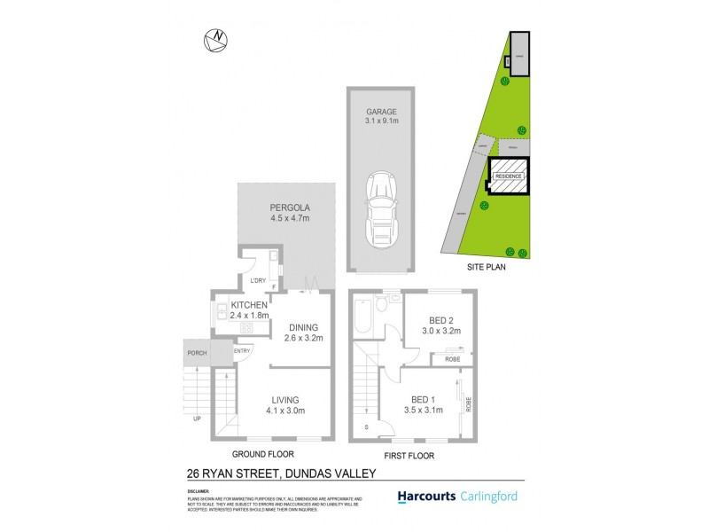 26 Ryan Street, Dundas Valley NSW 2117 Floorplan