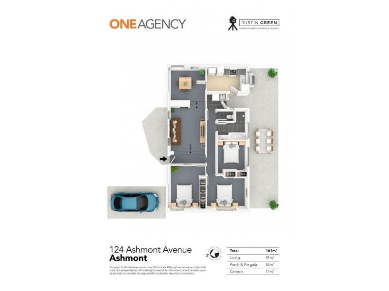 124 Ashmont Avenue, Ashmont NSW 2650 Floorplan