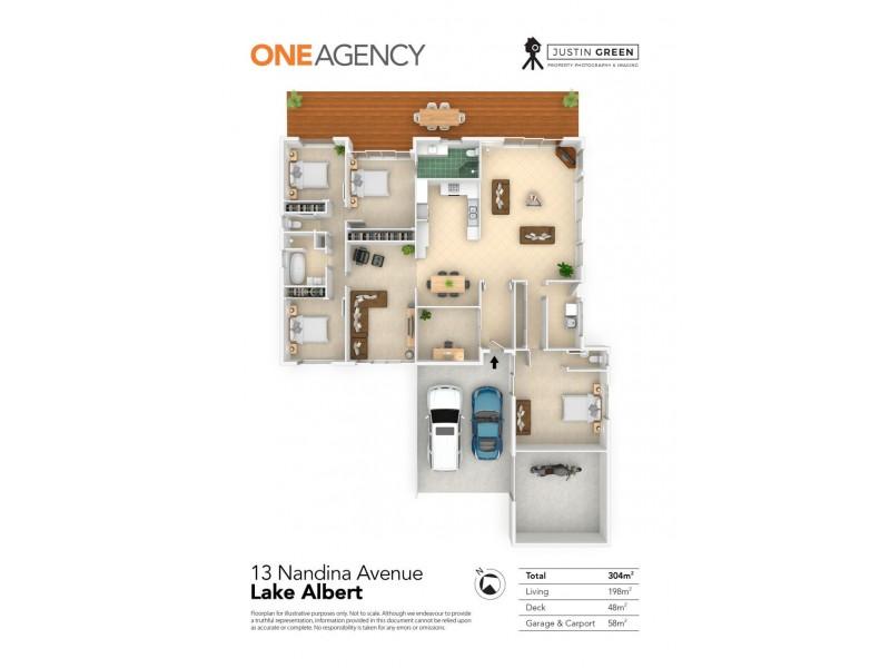 13 NANDINA AVENUE, Lake Albert NSW 2650 Floorplan