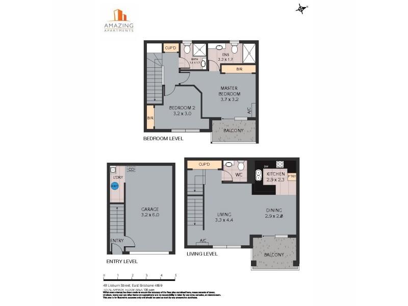 48 Lisburn Street, East Brisbane QLD 4169 Floorplan