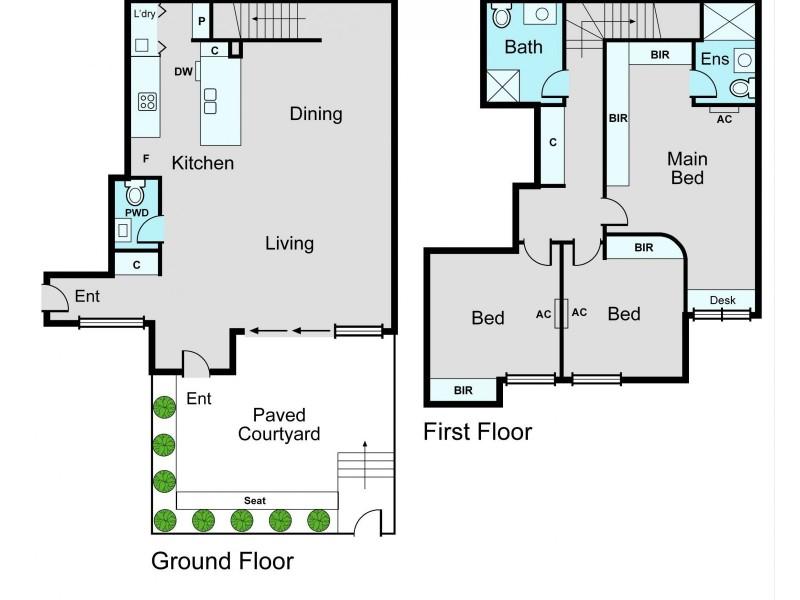 11/30-32 Prince Edward Avenue, Mckinnon VIC 3204 Floorplan