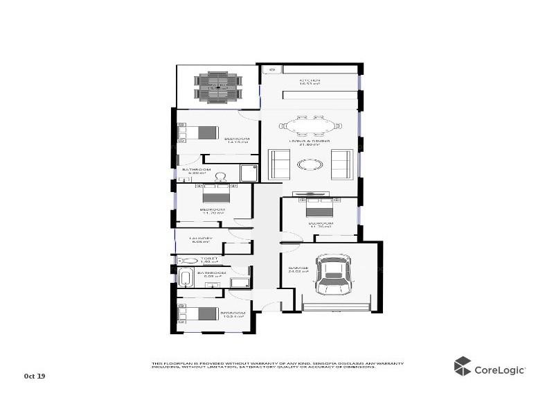 22 Isidore Street, Augustine Heights QLD 4300 Floorplan