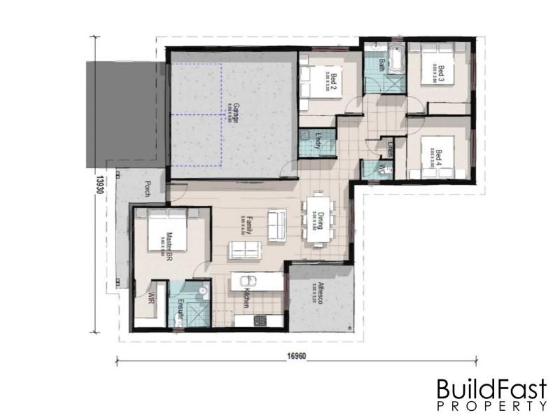 Cessnock NSW 2325 Floorplan