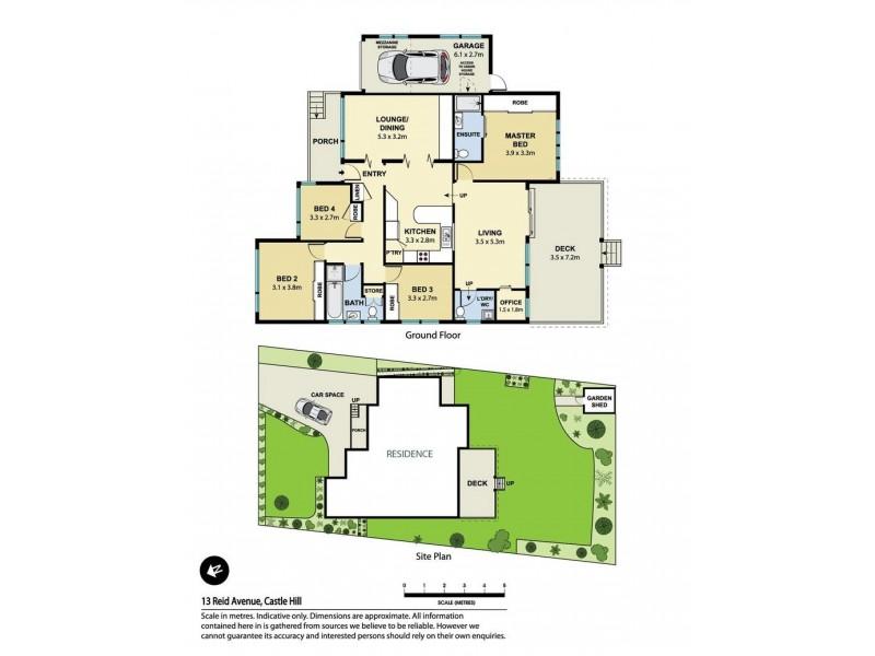 Castle Hill NSW 2154 Floorplan