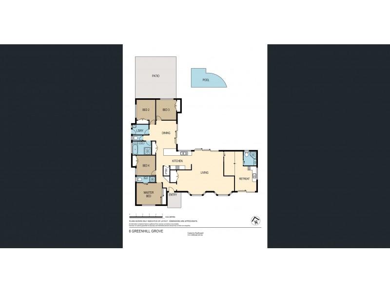 6 Greenhill Grove, Daisy Hill QLD 4127 Floorplan