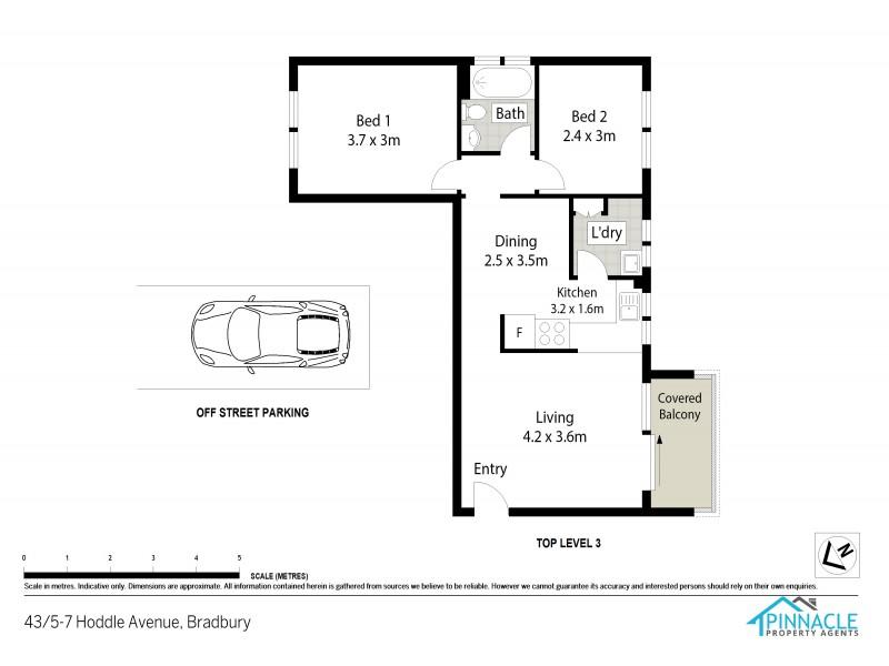 Unit 43/5-7 Hoddle Ave, Bradbury NSW 2560 Floorplan