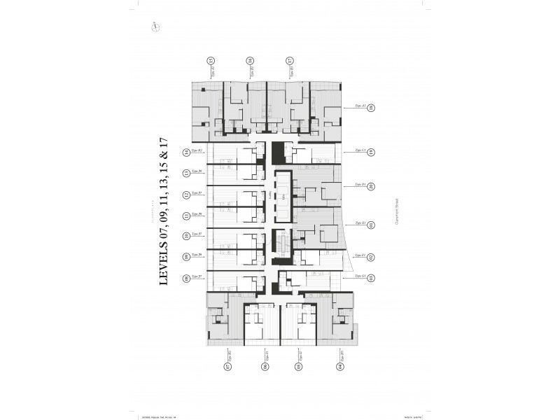 909/7 CLAREMONT STREET, South Yarra VIC 3141 Floorplan