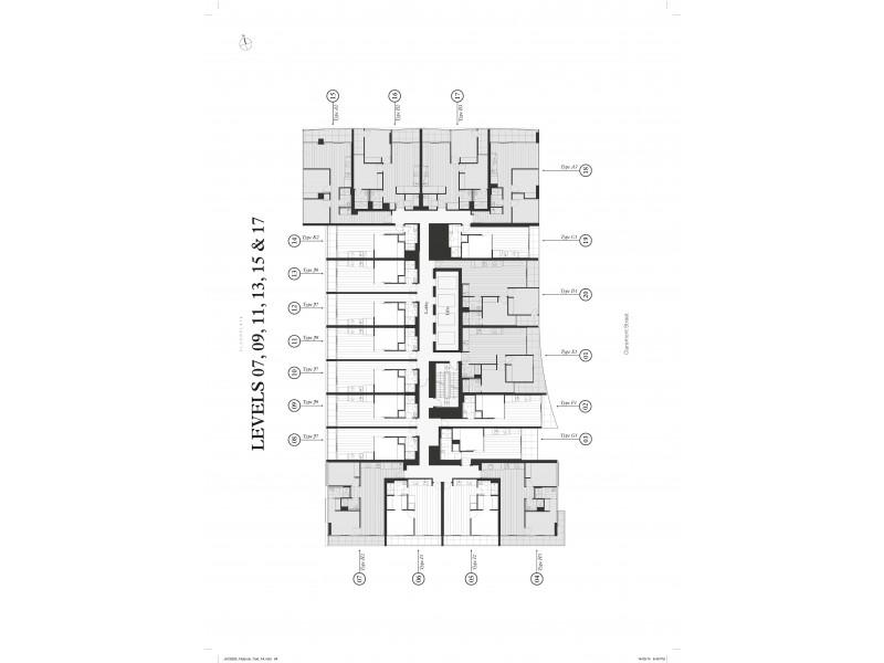 715/7 CLAREMONT STREET, South Yarra VIC 3141 Floorplan