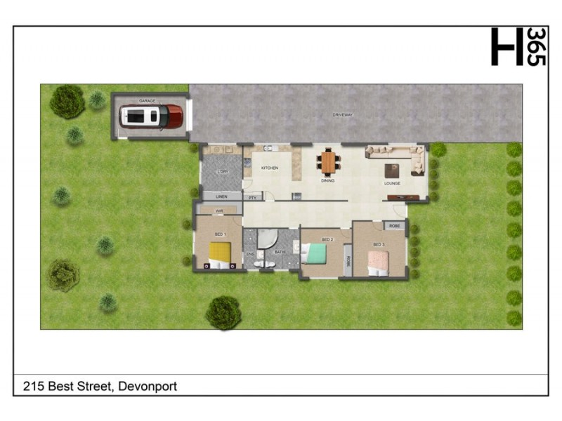215 Best Street, Devonport TAS 7310 Floorplan