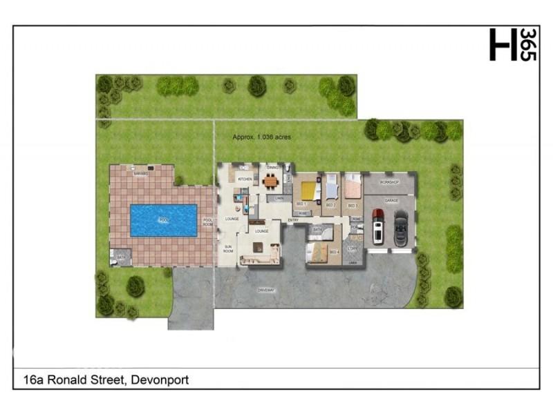 16a Ronald Street, Devonport TAS 7310 Floorplan