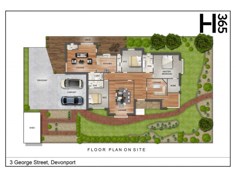 3 George Street, Devonport TAS 7310 Floorplan