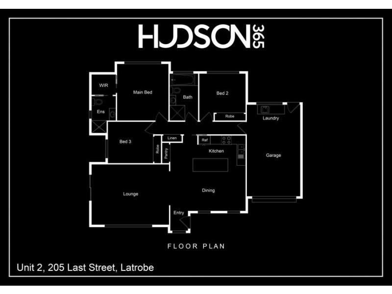 2/205 Last Street, Latrobe TAS 7307 Floorplan