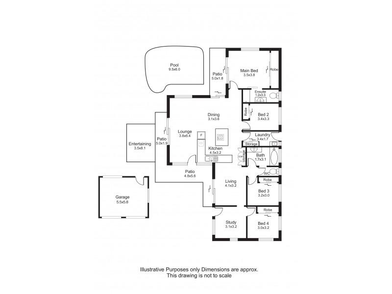 8 Sandpiper Court, Bayview Heights QLD 4868 Floorplan