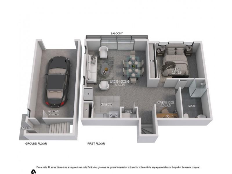 1 Coulter Lane, Austral NSW 2179 Floorplan