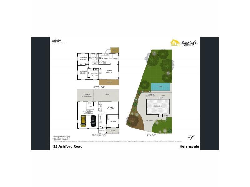 22 Ashford Road, Helensvale QLD 4212 Floorplan