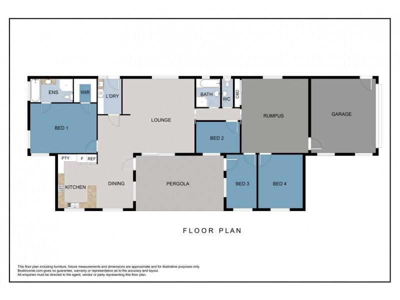 66 Boorawine Terrace, Callala Bay NSW 2540 Floorplan