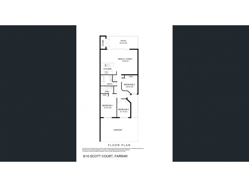 6/10 Scott Court, Farrar NT 0830 Floorplan