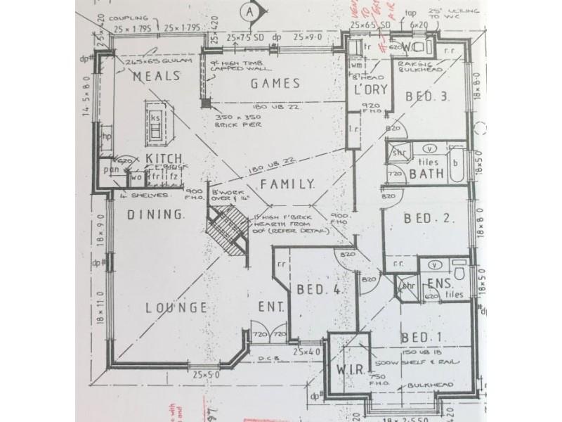 1 Truro Court, Yanchep WA 6035 Floorplan