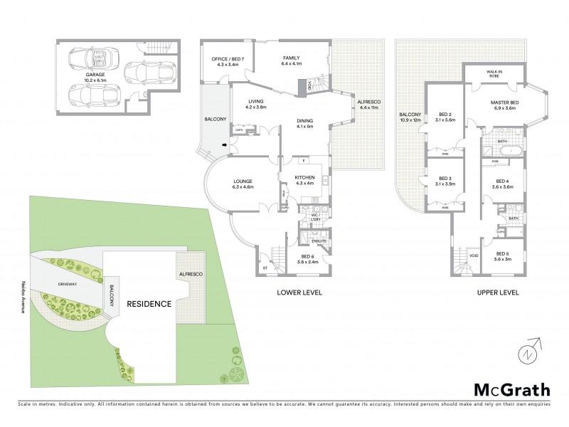 8 Neirbo Avenue, Hurstville NSW 2220 Floorplan