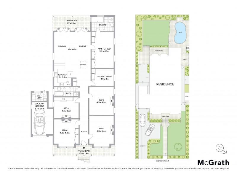 99 Woniora Road, Hurstville NSW 2220 Floorplan