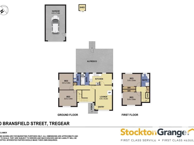 30 Bransfield St, Tregear NSW 2770 Floorplan