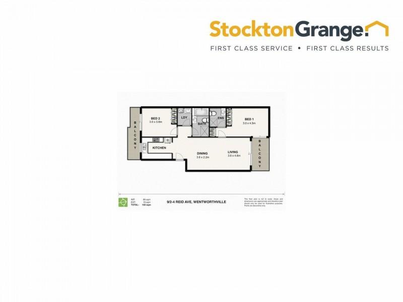 9/2-4 Reid Avenue, Westmead NSW 2145 Floorplan