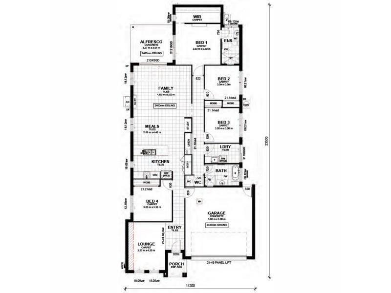 Lot 49 Paradise Grove, Yeppoon QLD 4703 Floorplan