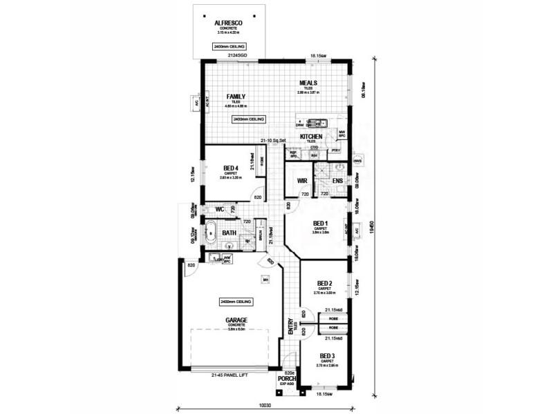 Lot 80 Jensen Road, Caboolture QLD 4510 Floorplan