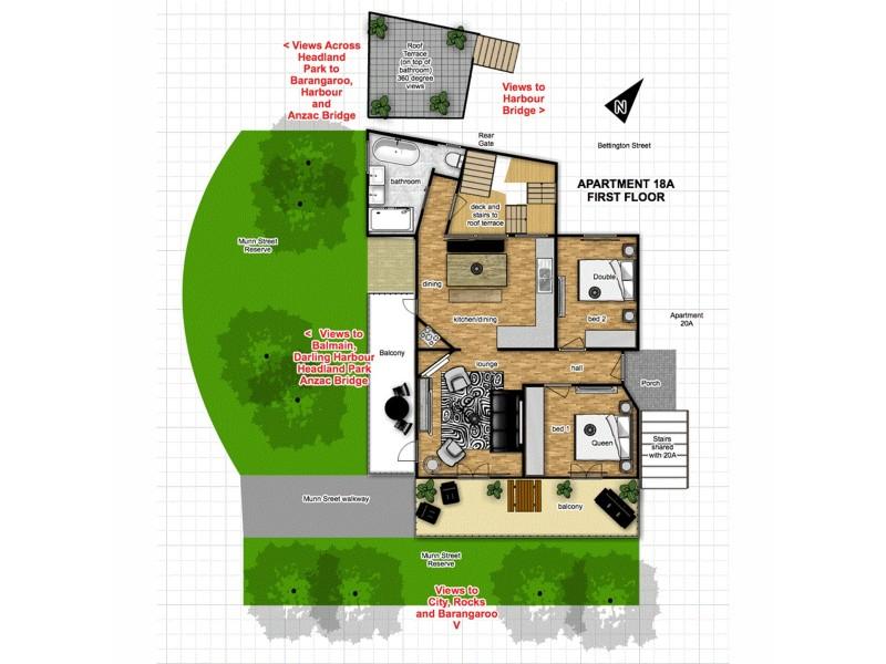 18-20 Munn Street, Sydney NSW 2000 Floorplan