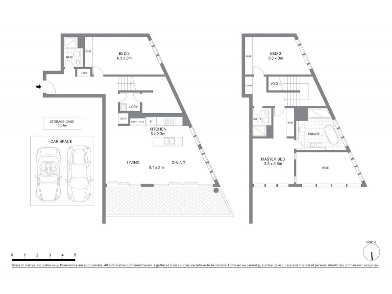 801/70 Tumbalong Boulevard, Sydney NSW 2000 Floorplan