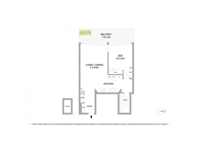103/29 Barangaroo Avenue, Sydney NSW 2000 Floorplan