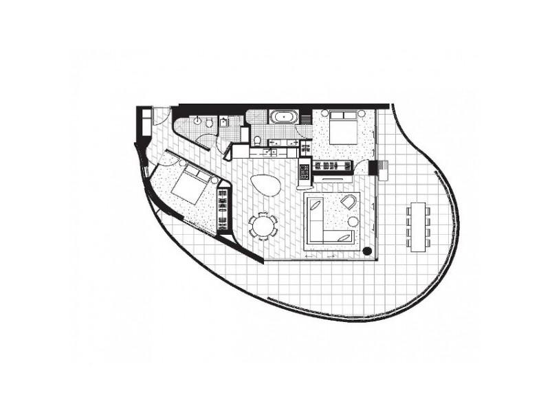 15 Barangaroo Avenue, Sydney NSW 2000 Floorplan