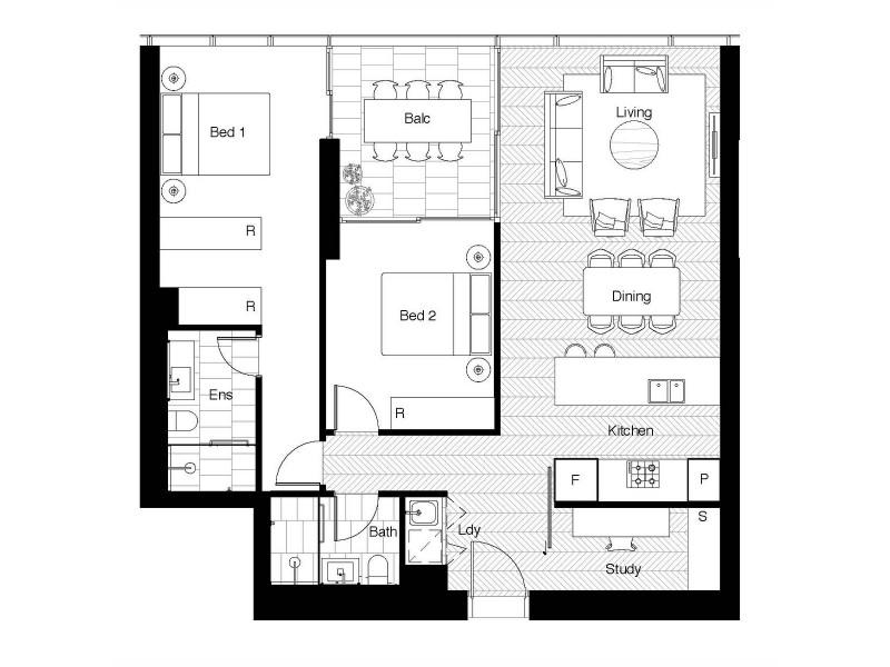 130 Elizabeth Street, Sydney NSW 2000 Floorplan
