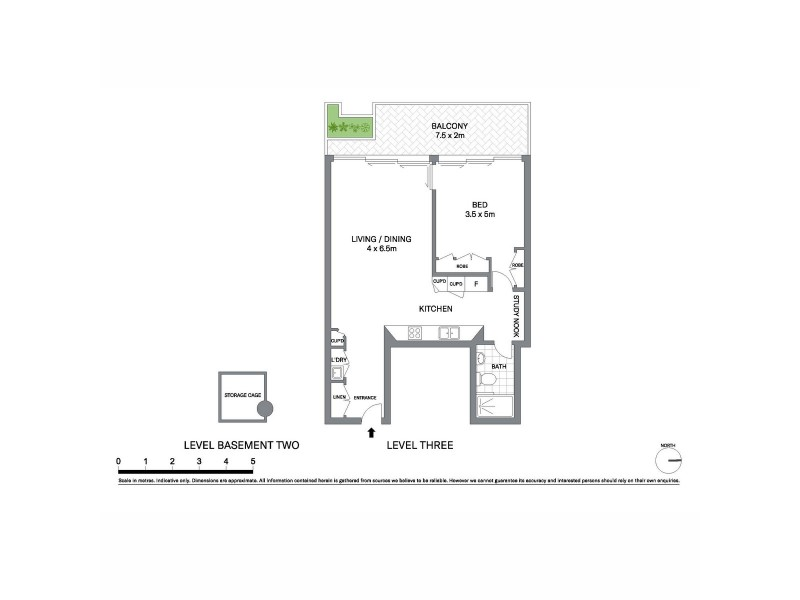 303/31 Barangaroo Avenue, Sydney NSW 2000 Floorplan