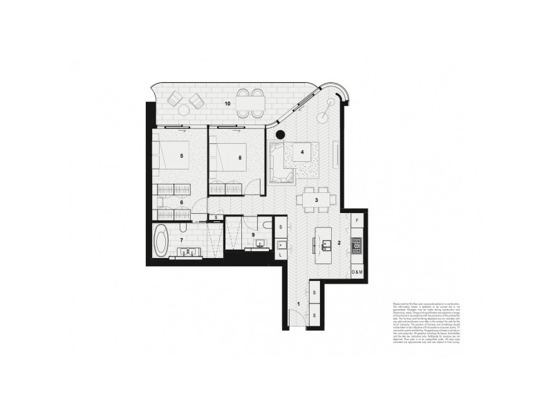 904/71 Macquarie Street, Sydney NSW 2000 Floorplan