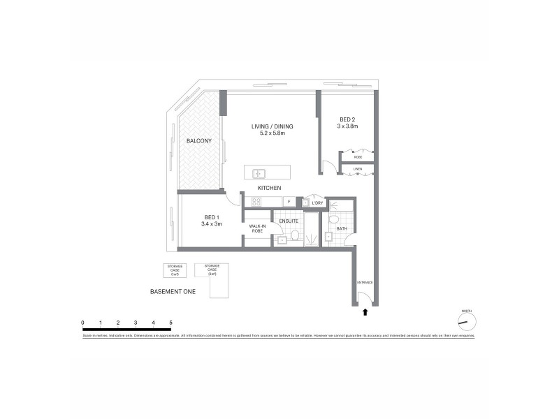 1302/209 Castlereagh Street, Sydney NSW 2000 Floorplan