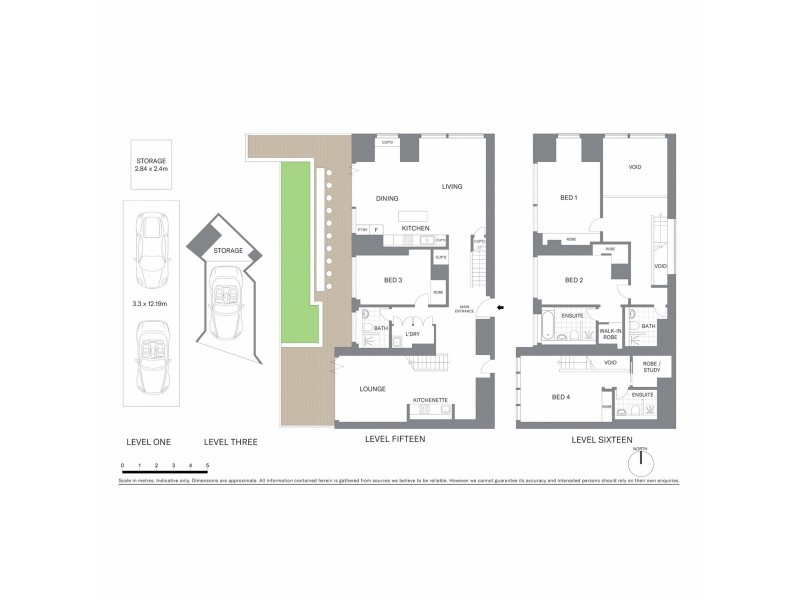1501/101 Bathurst Street, Sydney NSW 2000 Floorplan