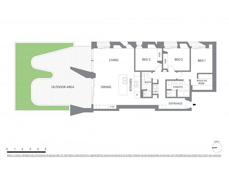 502/15 Young Street, Sydney NSW 2000 Floorplan