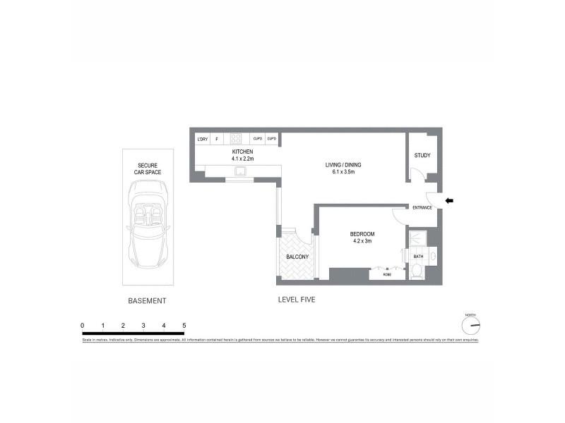 58/181 Clarence Street, Sydney NSW 2000 Floorplan