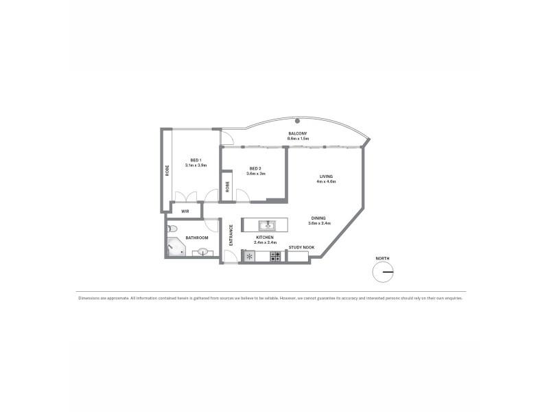 901/187 Kent Street, Sydney NSW 2000 Floorplan
