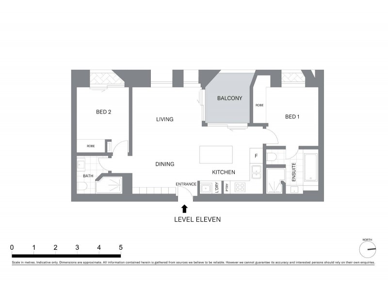 C1105/15 Young Street, Sydney NSW 2000 Floorplan
